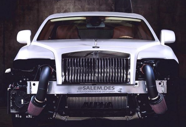 rolls royce wraith rendered with 1200hp worth of mods performancedrive. Black Bedroom Furniture Sets. Home Design Ideas