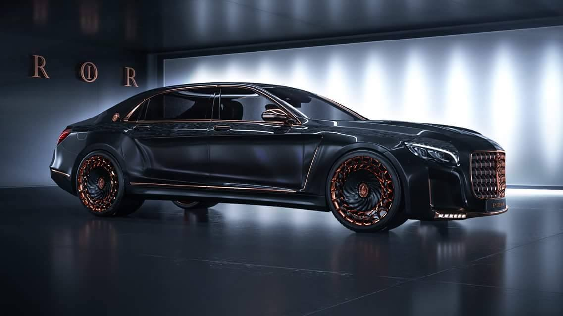 Scaldarsi Emperor I; Mercedes-Maybach S 600 modified to ...