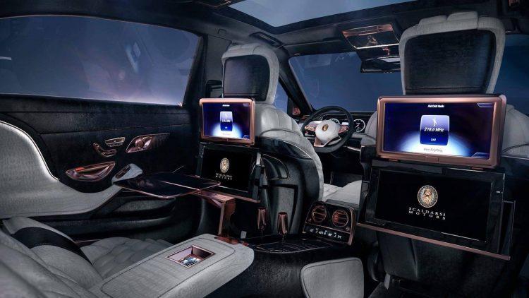 Scaldarsi Emperor I Maybach S 600-rear seats