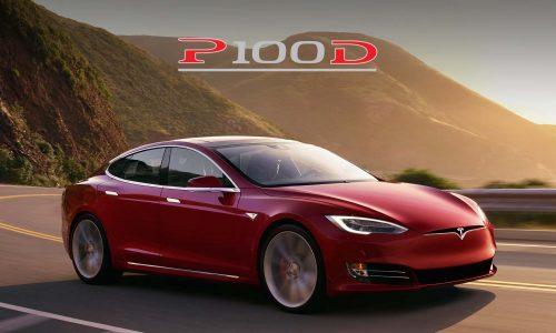 Tesla Model S P100D revealed, 0-100km/h in 2.7 seconds