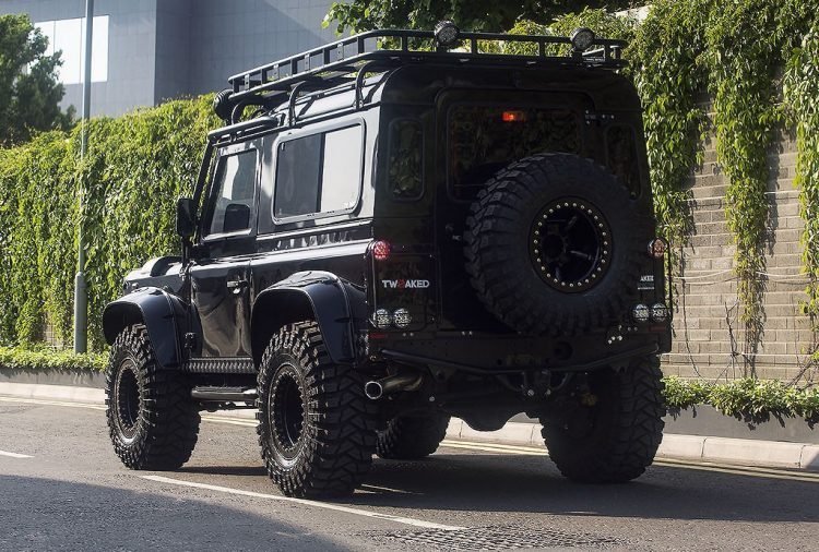 Tweaked Automotive Land Rover Defender-rear