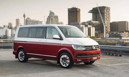 MY2017 Volkswagen commercial vehicle updates announced