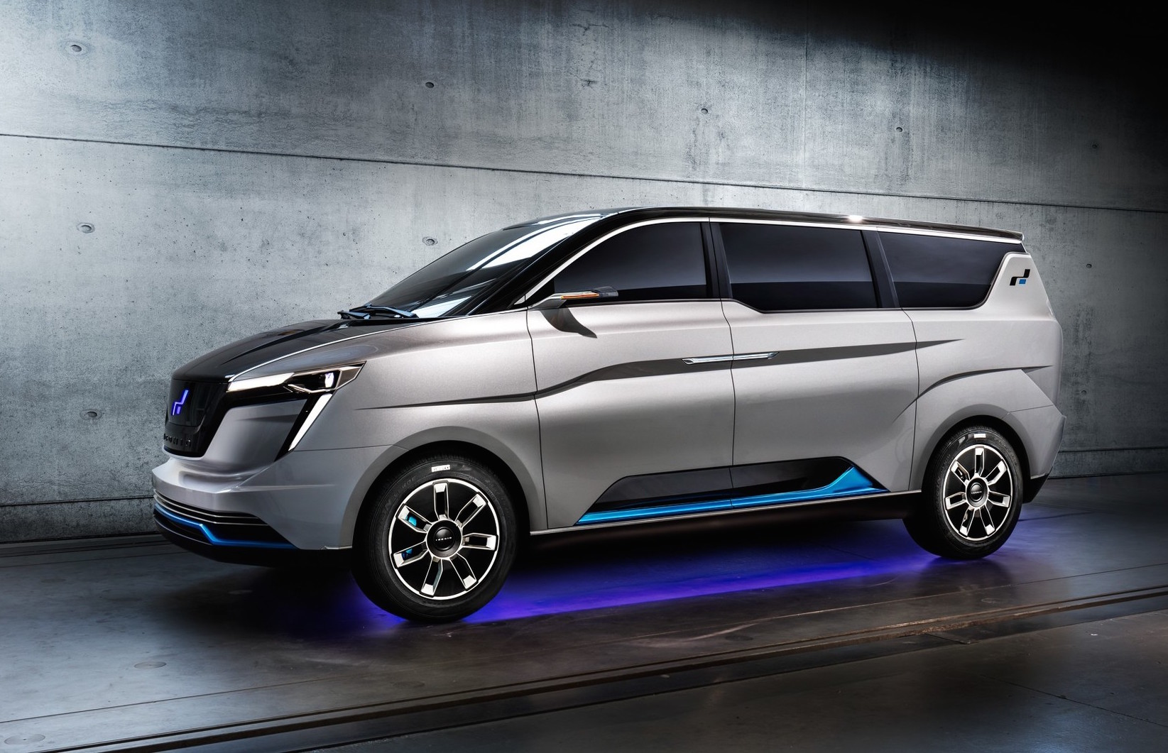 Lykan Hypersport Car >> W Motors reveals ICONIQ Seven EV minibus | PerformanceDrive