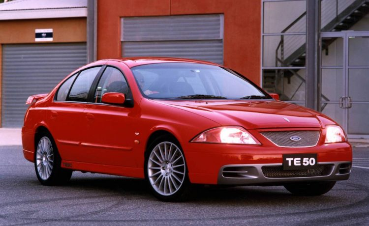 2001 Ford Tickford TE 50
