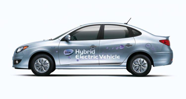 2009 Hyundai Elantra LPI hybrid