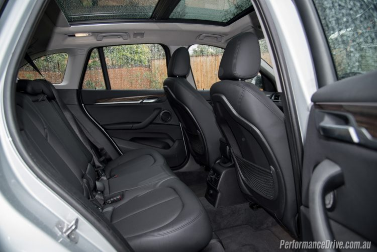 2016 BMW X1 xDrive20d-rear seats