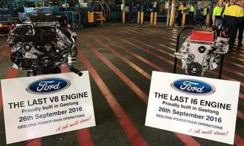 Ford Australia produces last I6 & V8 engines