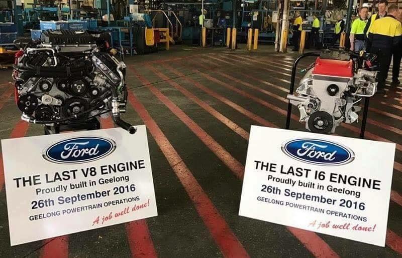 Ford Falcon Last I And V