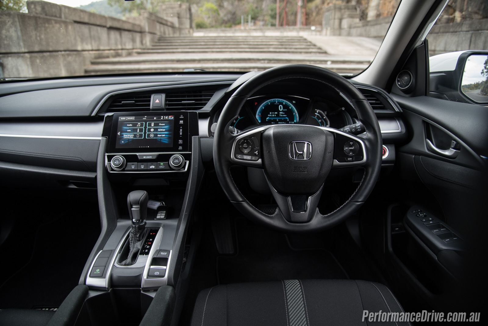 Civic Sedan Interior: 2016 Honda Civic VTi-S Sedan Review (video)
