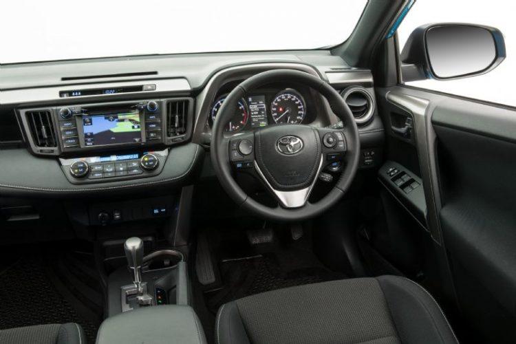 2016 Toyota RAV4 GXL-interior
