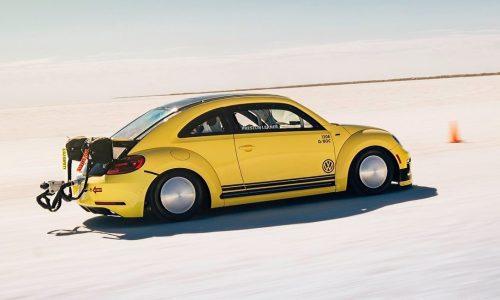 Meet the new world's fastest Volkswagen Beetle; 330km/h Beetle LSR
