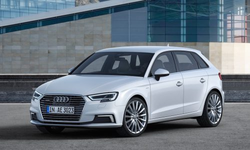 2017 Audi A3 e-tron debuts in the US, gets technology boost