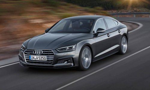 New Audi A5 / S5 Sportback revealed, on sale mid-2017