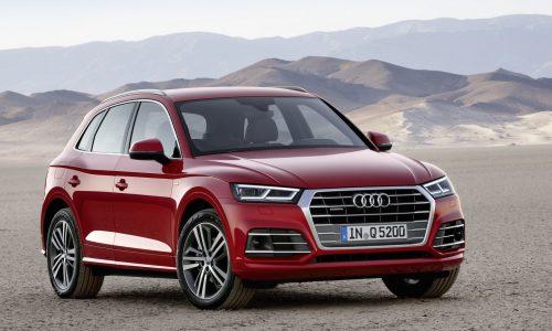 2017 Audi Q5 revealed at Paris show, up to 90kg lighter