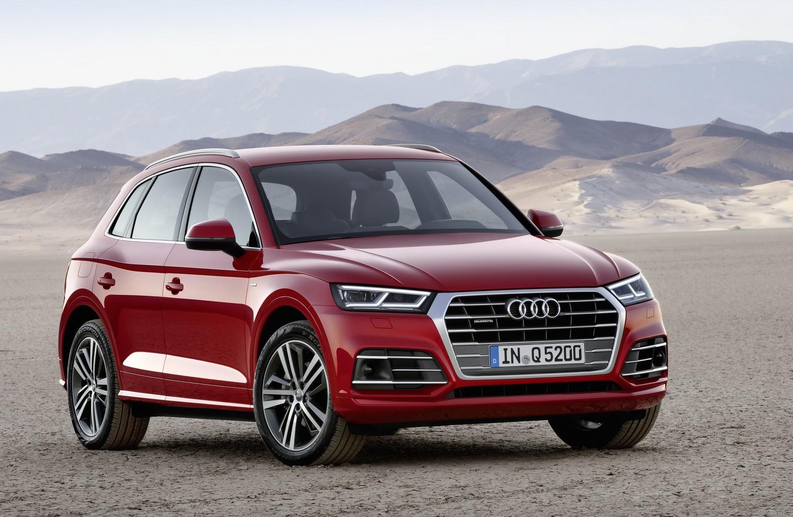 2017 Audi Q5 revealed at Paris show, up to 90kg lighter ...