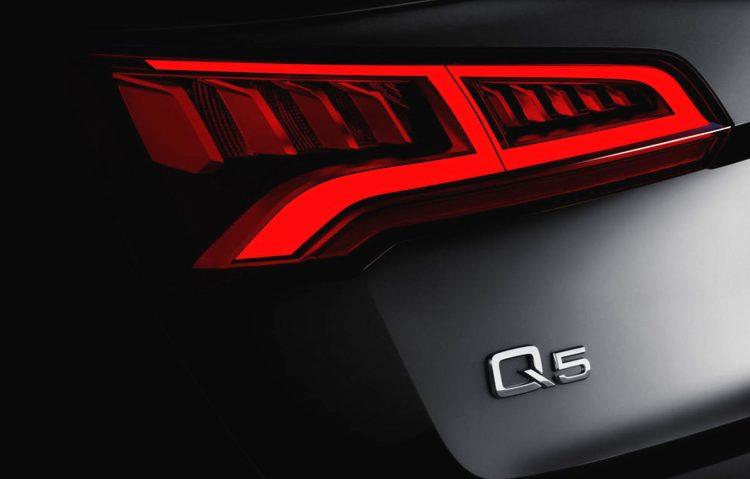 2017 Audi Q5 taillight