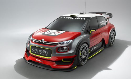 Citroen C3 WRC concept previews 2017 rally car