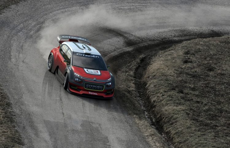 2017 Citroen C3 WRC concept-driving