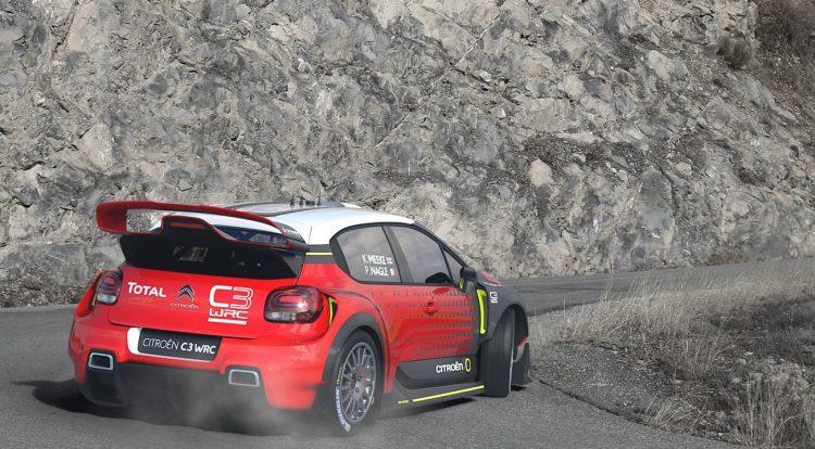 2017 Citroen C3 WRC concept-sliding