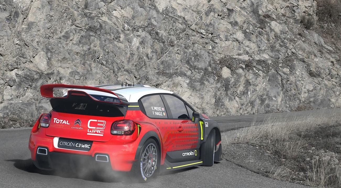 Citroen C3 WRC concept previews 2017 rally car   PerformanceDrive
