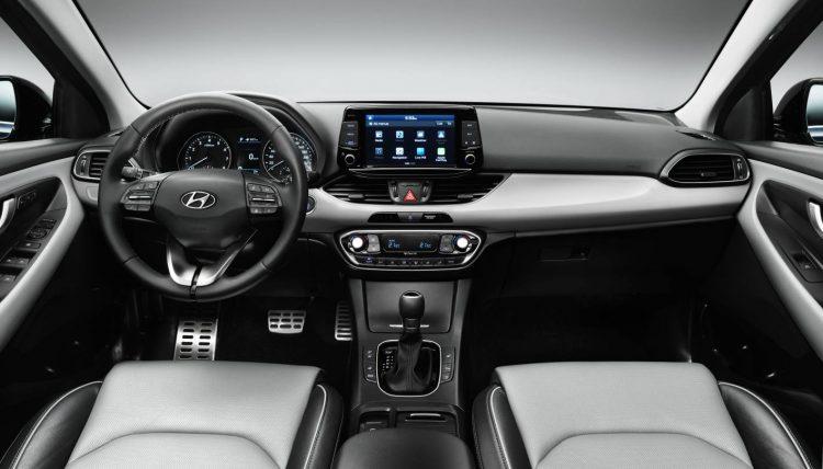 2017 Hyundai i30-interior