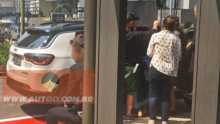 2017 Jeep Compass spotted-rear