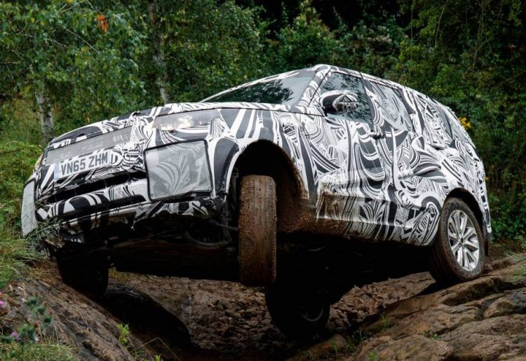 2017 Land Rover Discovery prototype