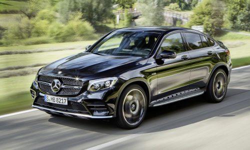 Mercedes-AMG GLC 43 Coupe revealed, 270kW turbo
