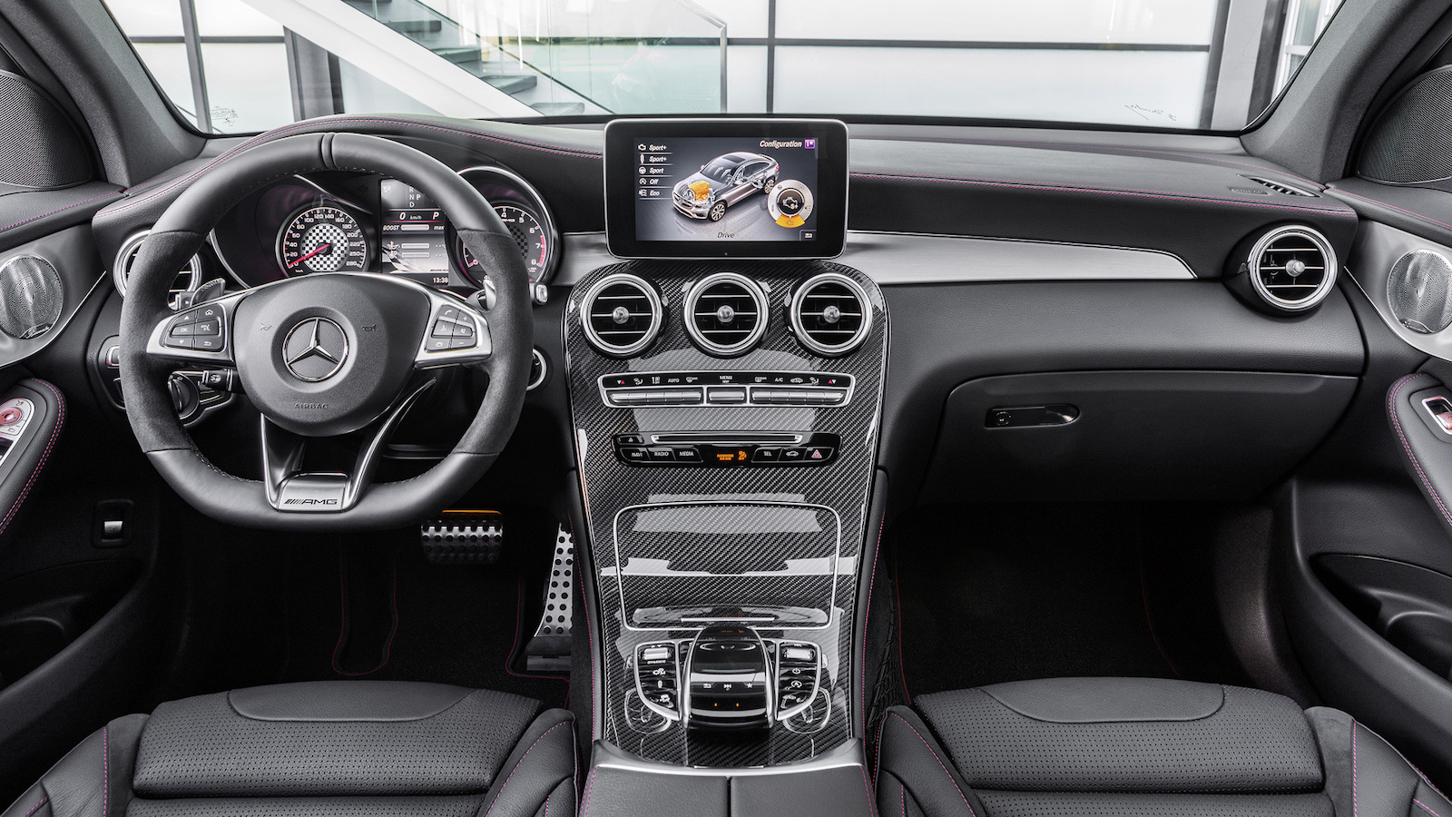 Mercedes-AMG GLC 43 Coupe revealed, 270kW turbo ...