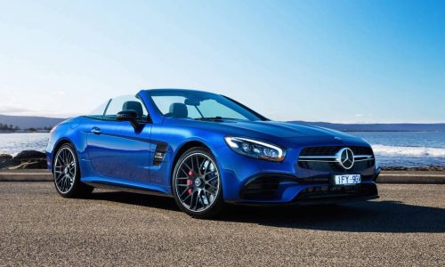 2017 Mercedes-Benz SL on sale in Australia from $218,715