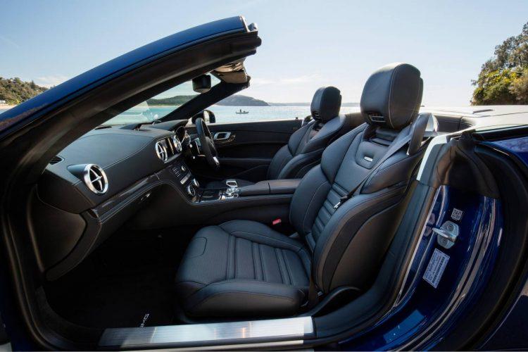 2017 Mercedes-AMG SL 63-interior