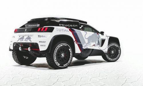 Peugeot's 2017 Dakar entry looks angry; the 3008 DKR
