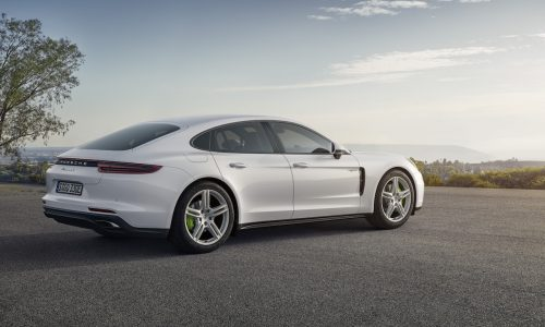 New Porsche Panamera 4 E-Hybrid revealed, arrives mid-2017