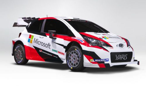Toyota teams up with Microsoft for 2017 Yaris WRC campaign