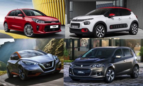 Top 10 best small cars coming in 2017-2018