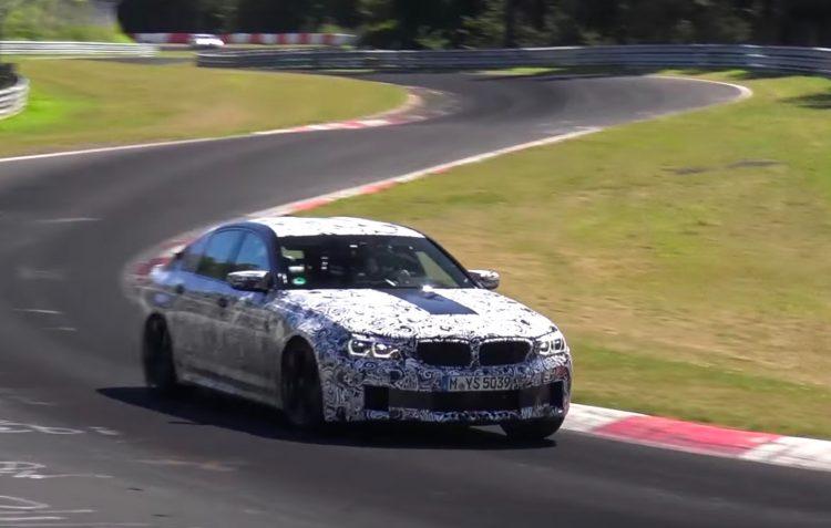 2018 BMW M5 F90 prototype