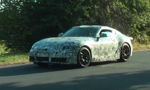 2018 Toyota Supra prototype spotted (video)