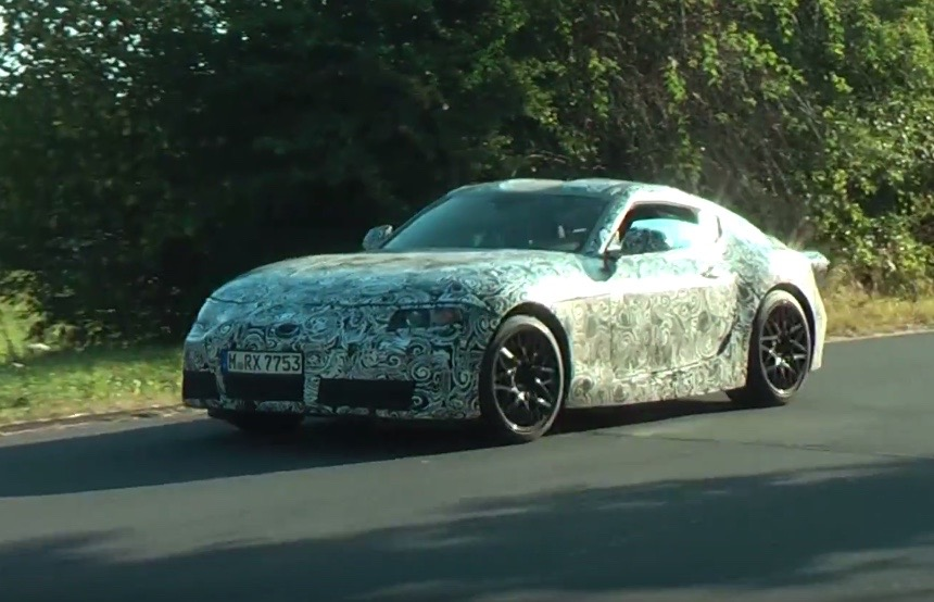 2018 Toyota Supra Prototype Spotted Video Performancedrive