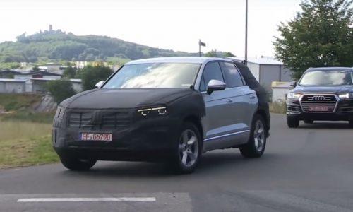 2018 Volkswagen Touareg spotted, adopts MLB platform (video)
