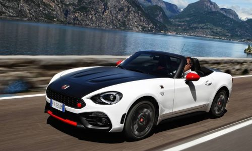 Abarth 124 Spider on sale in Australia from $41,990