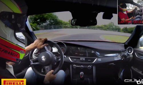 Alfa Romeo Giulia QV posts new Nurburgring lap record (video)