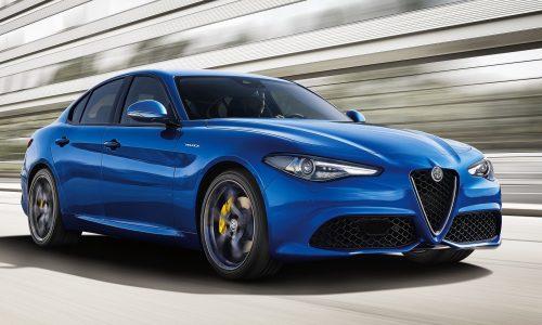Sporty Alfa Romeo Giulia 'Veloce' variants added to lineup