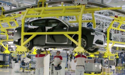 Alfa Romeo Stelvio partially revealed in factory video