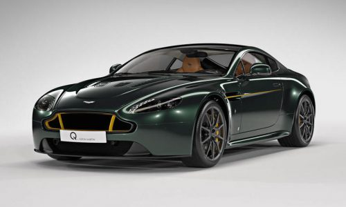 Aston Martin Q makes special edition 'Spitfire' Vantage