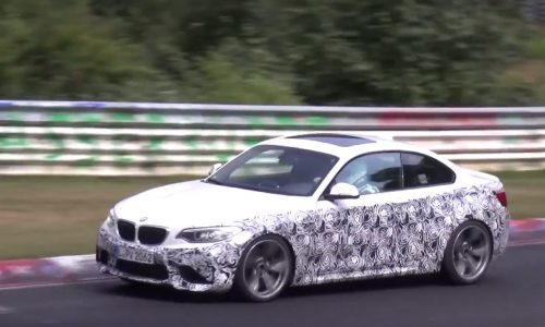Video: Is this a BMW M2 CSL / GTS in the making?