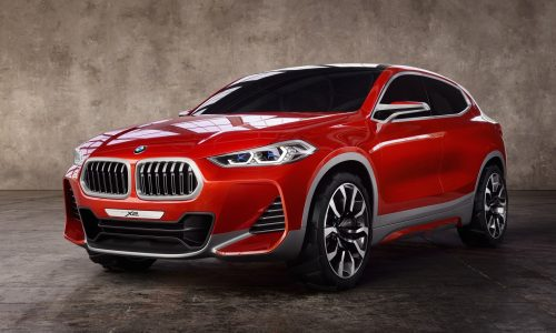 BMW X2 concept previews new compact coupe SUV