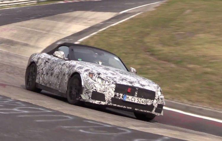 BMW Z5 prototype Nurburgring