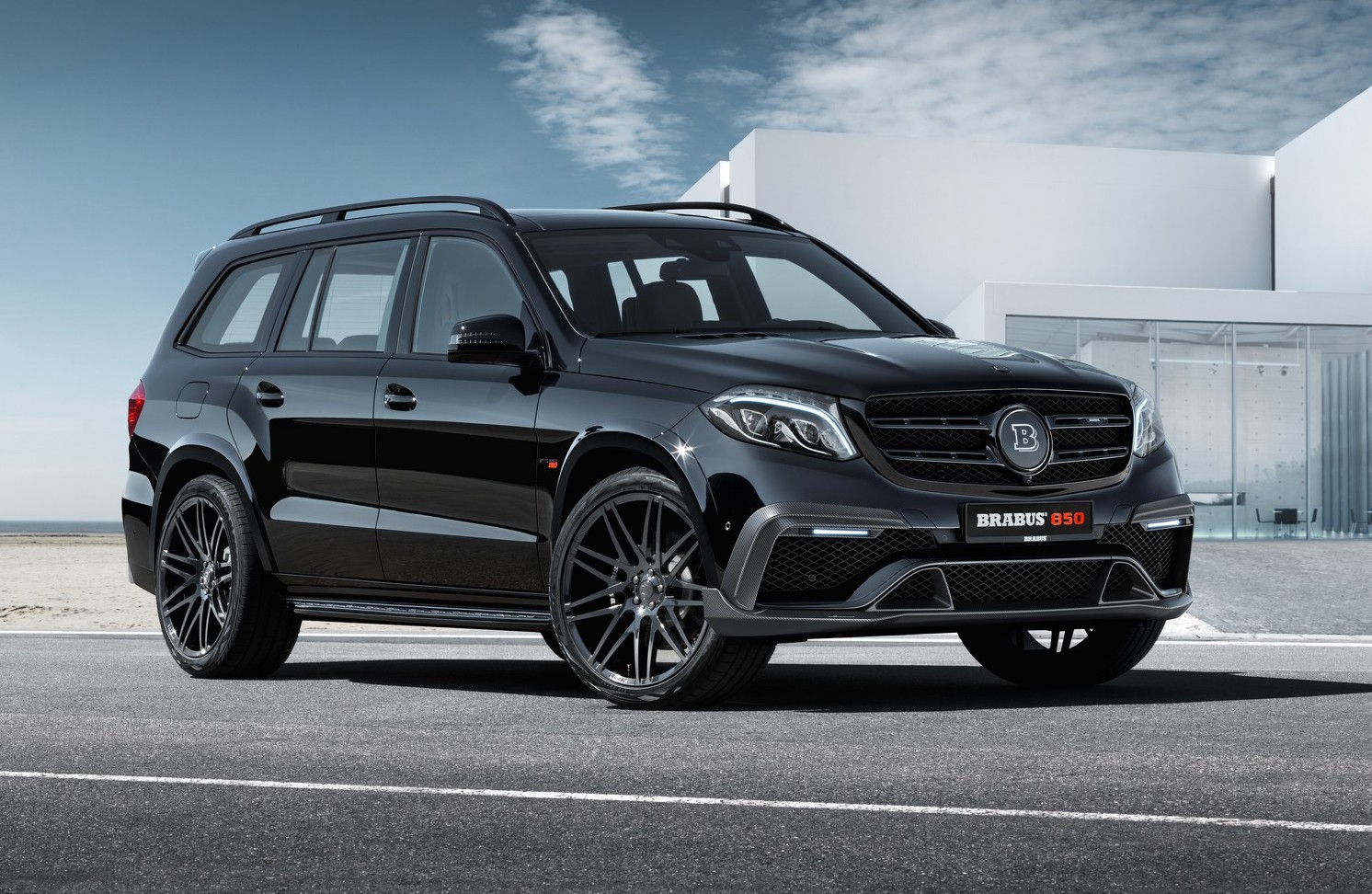 Brabus Extracts 1450nm From Mercedes Amg Gls 63 Performancedrive