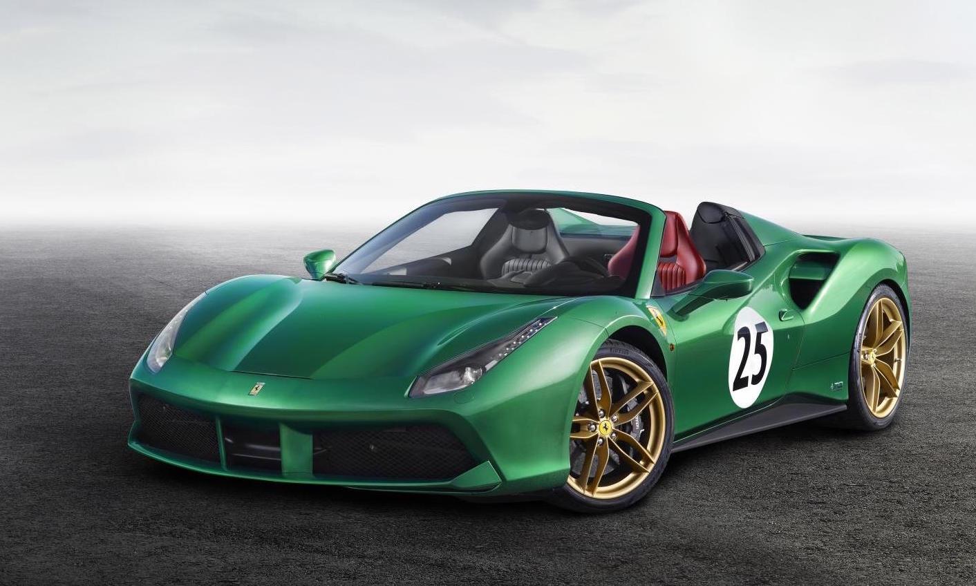 Ferrari reveals special editions for 70th anniversary ...