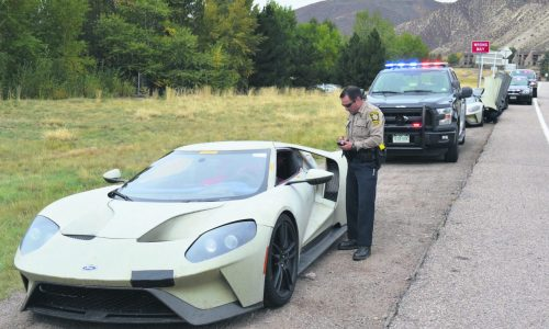 Police fine 3 Ford GT prototypes for speeding in Colorado